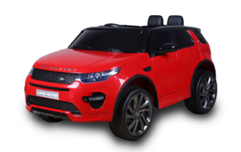 12V Licensed Red Land Rover Discovery HSE Sport Ride On Car